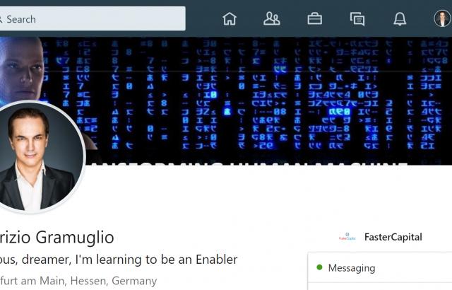 Fabrizio Linkedin Profile